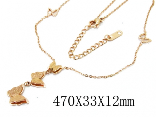HY Wholesale Stainless Steel 316L Necklaces-HY80N0272OL