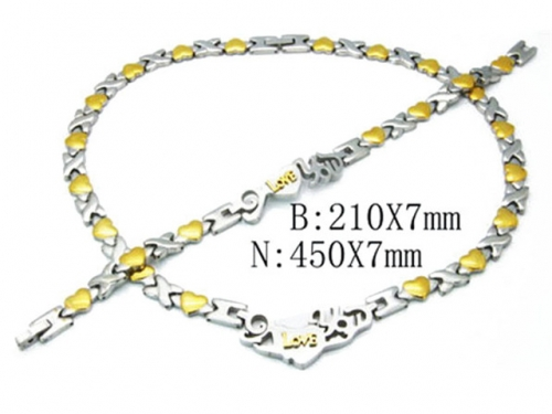 HY Wholesale Necklaces Popular Bracelets Sets-HY63S0211K8A