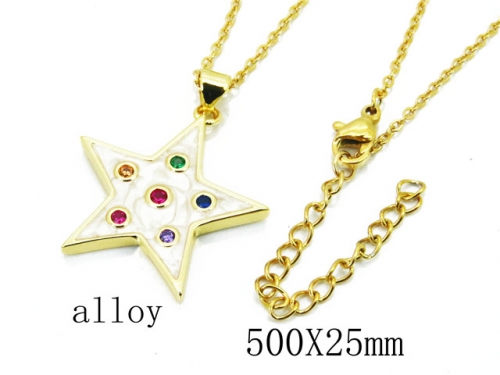 HY Wholesale Stainless Steel 316L Necklaces-HY0004N0006PC