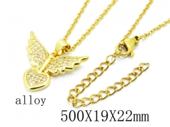 HY Wholesale Stainless Steel 316L Necklaces-HY0004N0016NE