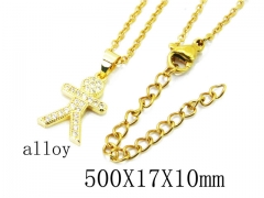 HY Wholesale Stainless Steel 316L Necklaces-HY0004N0020KD