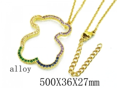 HY Wholesale Stainless Steel 316L Necklaces-HY0002N0011OD