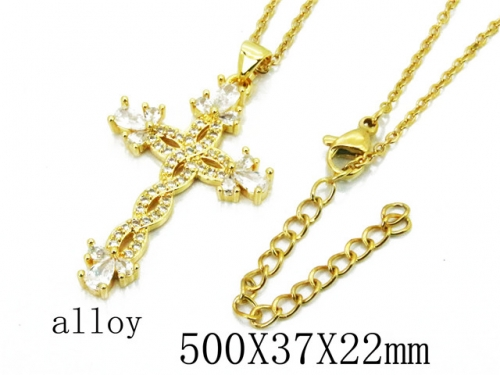 HY Wholesale Stainless Steel 316L Necklaces-HY0002N0018LL