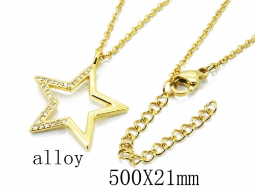HY Wholesale Stainless Steel 316L Necklaces-HY54N0458NL