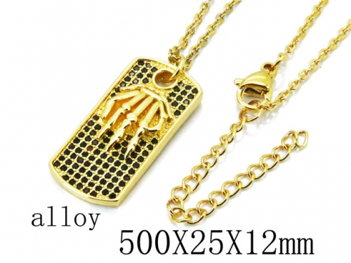 HY Wholesale Stainless Steel 316L Necklaces-HY54N0454HVV