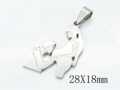HY Wholesale 316L Stainless Steel Pendant-HY12P0867JLR