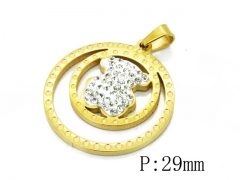 HY Wholesale 316L Stainless Steel Pendant-HY12P0880JL
