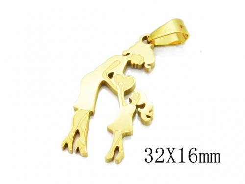 HY Wholesale 316L Stainless Steel Pendant-HY12P0875KR