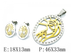 HY Wholesale 316L Stainless Steel jewelry Set-HY12S0879HFF