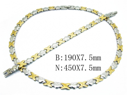 HY Wholesale Necklaces Popular Bracelets Sets-HY63S001AJ80