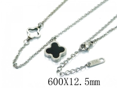 HY Wholesale Stainless Steel 316L Necklaces-HY80N0322NS