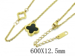 HY Wholesale Stainless Steel 316L Necklaces-HY80N0323PQ