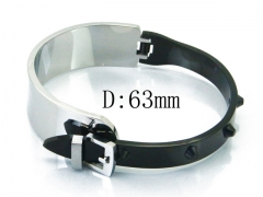 HY Wholesale 316L Stainless Steel Popular Bangle-HY80B1062HPQ