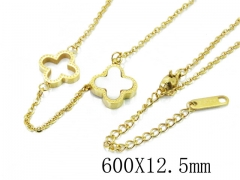 HY Wholesale Stainless Steel 316L Necklaces-HY80N0324PA