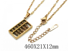 HY Wholesale Stainless Steel 316L Necklaces-HY32N0056HHL