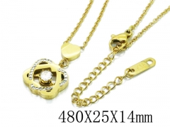 HY Wholesale| Popular CZ Necklaces-HY80N0309NL