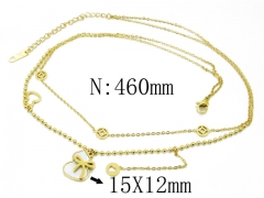 HY Wholesale Stainless Steel 316L Necklaces-HY32N0066HIL