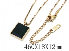 HY Wholesale Stainless Steel 316L Necklaces-HY32N0059HZL