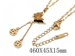 HY Wholesale Stainless Steel 316L Necklaces-HY32N0058OE