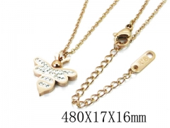 HY Stainless Steel 316L Necklaces (Animal Style)-HY80N0319NR