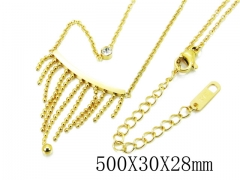 HY Wholesale Stainless Steel 316L Necklaces-HY32N0064HZL