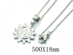HY Wholesale Stainless Steel 316L Necklaces-HY64N0049LC