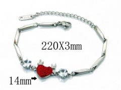 HY Wholesale Stainless Steel 316L Bracelets-HY80B1072NW