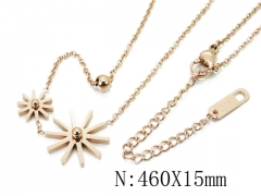 HY Wholesale Stainless Steel 316L Necklaces-HY32N0052HFF