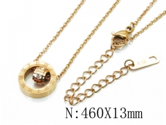 HY Wholesale Stainless Steel 316L Necklaces-HY32N0044NL