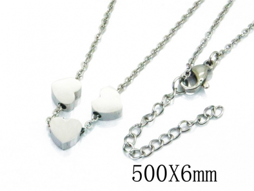 HY Wholesale Stainless Steel 316L Necklaces-HY22N0602HHF