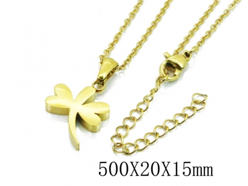 HY Stainless Steel 316L Necklaces (Animal Style)-HY91N0178MLS