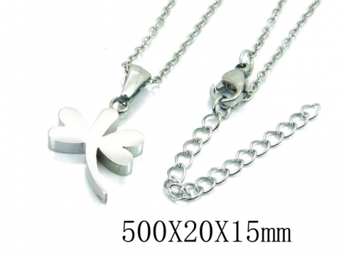 HY Stainless Steel 316L Necklaces (Animal Style)-HY91N0156LLZ