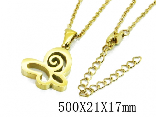 HY Stainless Steel 316L Necklaces (Animal Style)-HY91N0176MLW