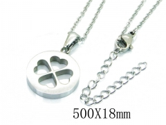 HY Wholesale Stainless Steel 316L Lover Necklaces-HY91N0149LLQ