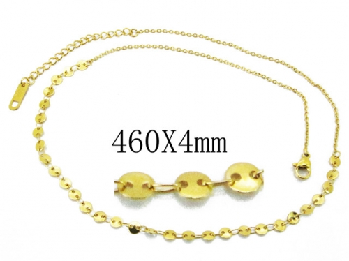 HY Wholesale Stainless Steel 316L Necklaces-HY32N0101OT