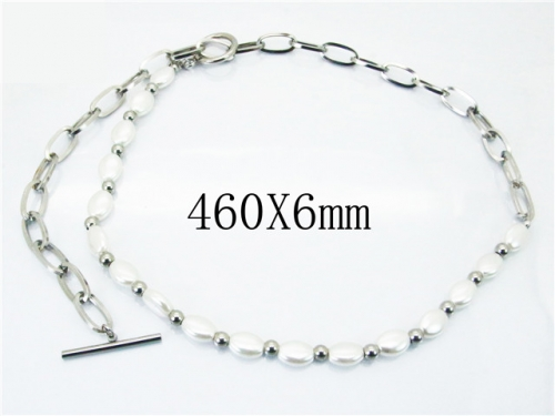 HY Wholesale Necklace (Pearl)-HY32N0088HID