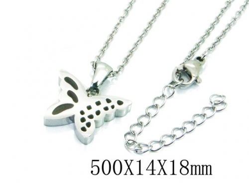 HY Stainless Steel 316L Necklaces (Animal Style)-HY91N0166LLD
