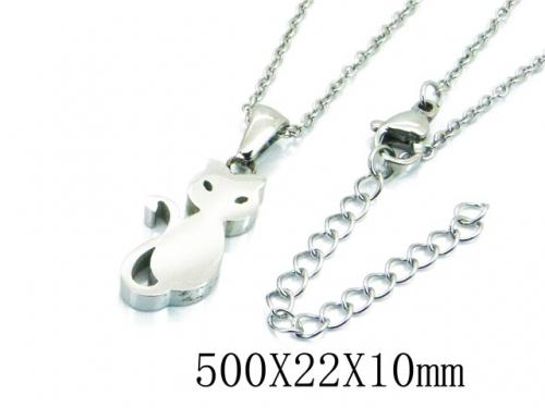 HY Stainless Steel 316L Necklaces (Animal Style)-HY91N0163LLF