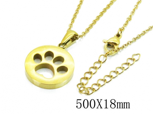 HY Wholesale Stainless Steel 316L Necklaces-HY91N0173MLQ