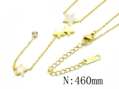 HY Wholesale| Popular CZ Necklaces-HY32N0103HEE