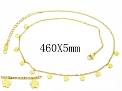 HY Wholesale Stainless Steel 316L Necklaces-HY32N0100HDD