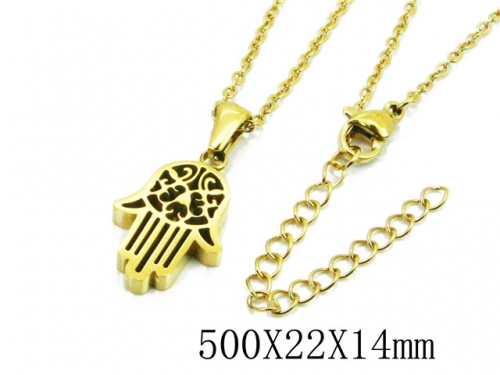 HY Wholesale Stainless Steel 316L Necklaces-HY91N0181MLA
